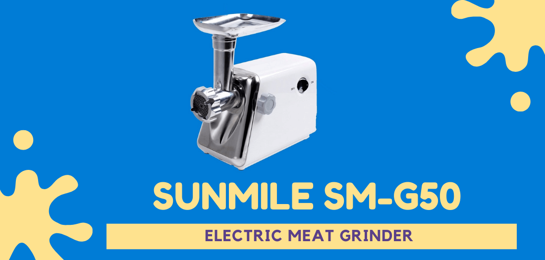 sunmile sm-g50 electric meat grinder