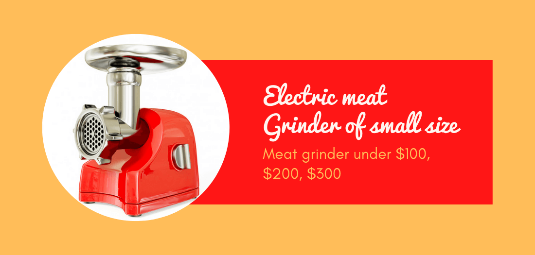 Best small electric meat grinder