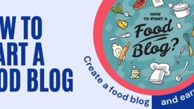 how to start a food blog on wordpress