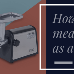 how to use a meat grinder as a juicer